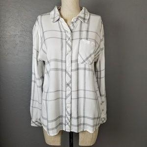 Rails Plaid Button Front Shirt
